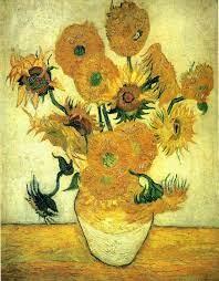 梵谷與向日葵