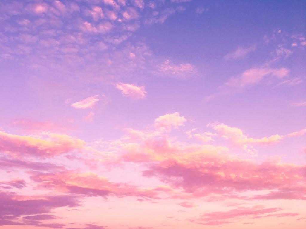 粉紅色天空